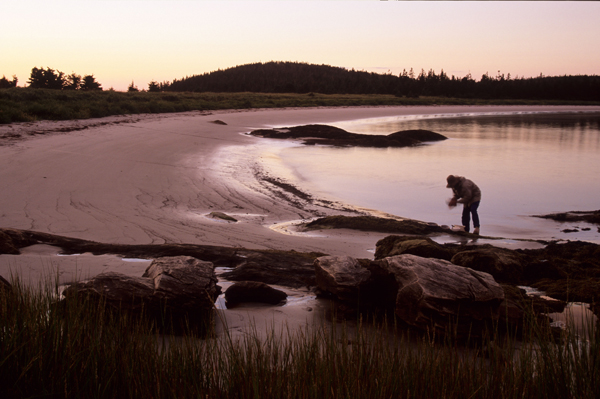 Shelter Cove beach evening by Oliver Maass, Nova Scotia Nature Trust