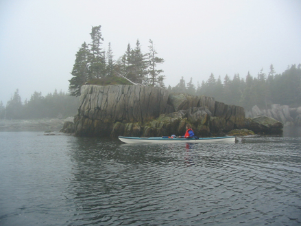 Shelter Cove kayak, by Martin Willison, Nova Scotia Nature Trust