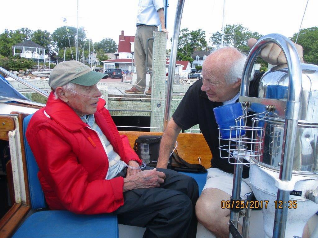 2017 06 25 Sailing w Rudy Brookes Diamong saying hi