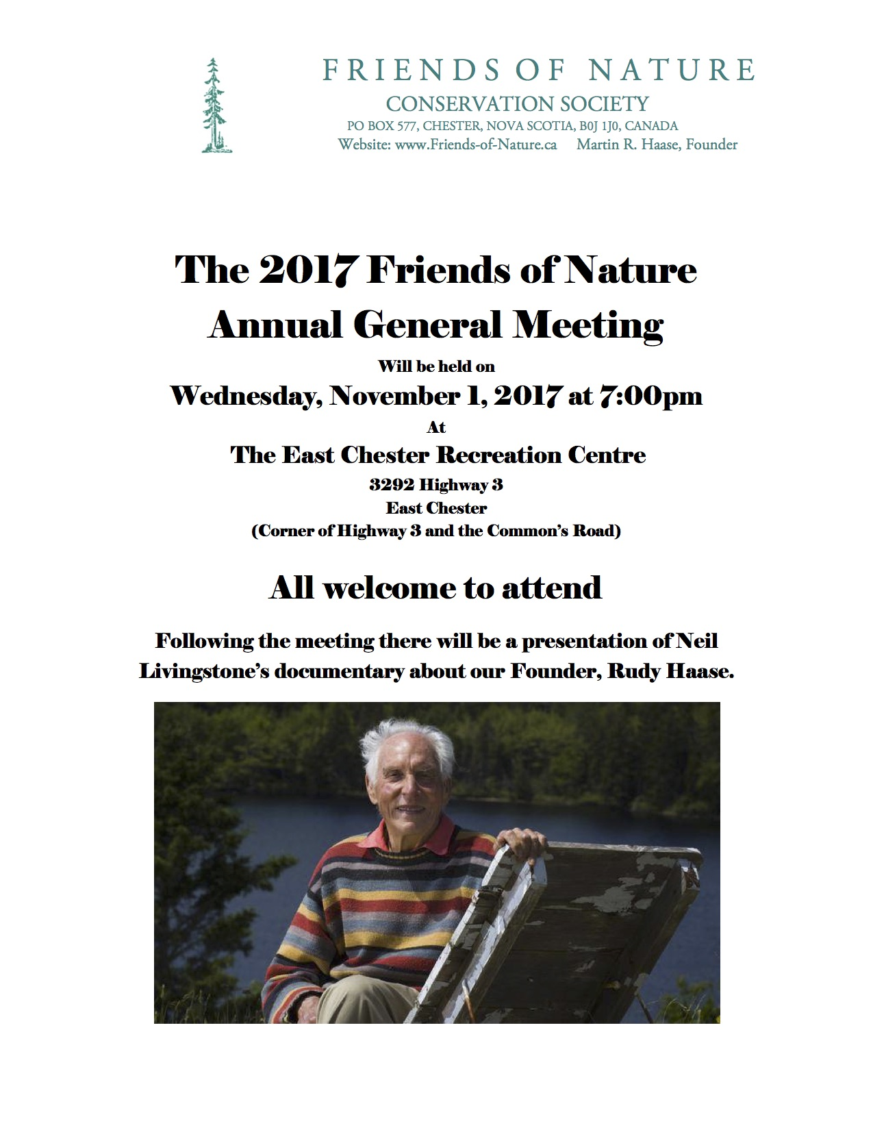 The 2017 Friends of Nature Annual General Meeting