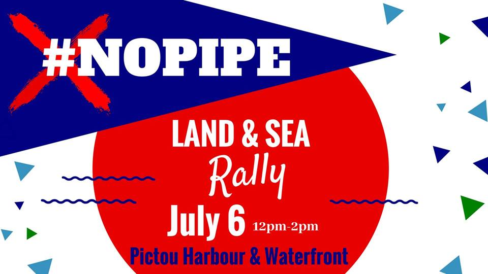 No Pipe Rally in PictouNo Pipe Rally in Pictou