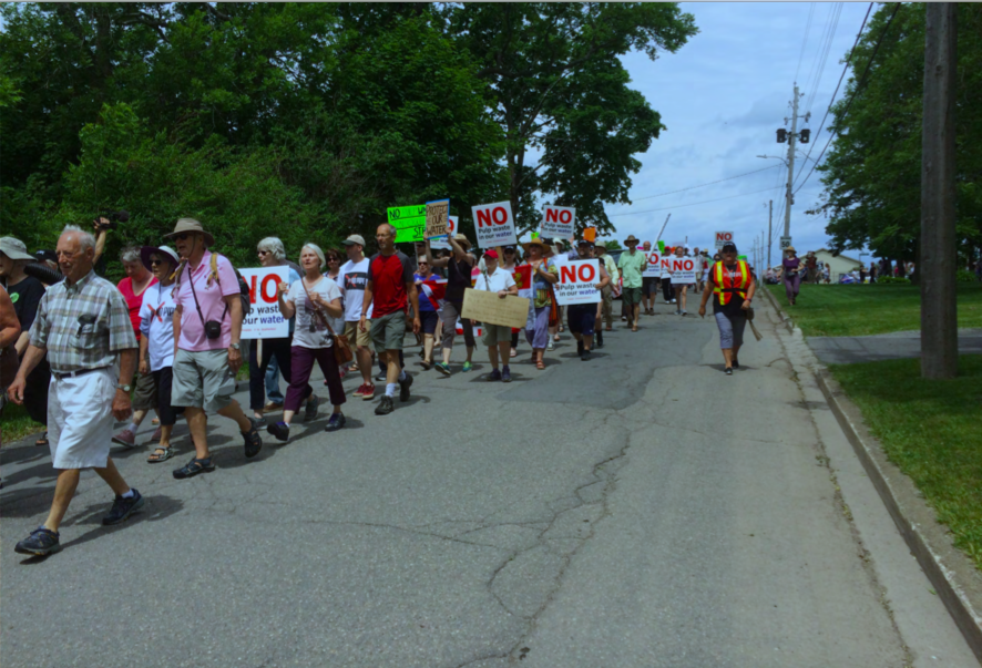 No Pipe Protest Pictou, Nova Scotia