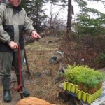 Conservation Campaigns: 2012 Clay Island tree planting - Nova Scotia